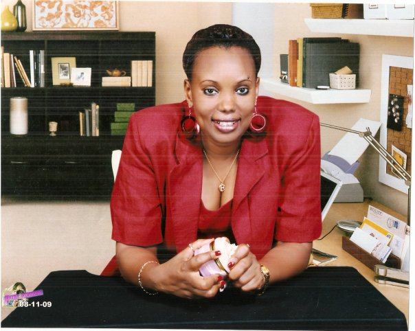 Naome Ruzindana was recently nominated among the Swedish Heroine by Aftonbladet. (Photograph from her office in Rwanda)